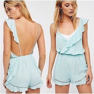 NWOT Free People One of These Days Romper